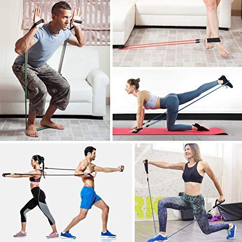 11Pz Bandas Elasticas Musculacion Elasticos Deporte De Resistencia Banda Deportiva Para Fitnes Yoga Accesorios Gomas Elastica Fuerza Complementos Gimnasio De Casa