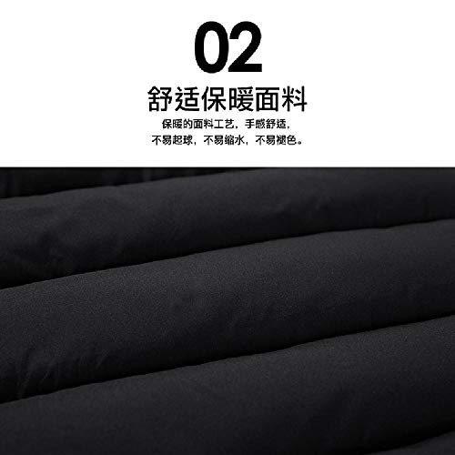 2018 Chaleco Casual para Hombre de Gran tamaño Chaleco de algodón sólido para Hombre Abrigo de Venta Directa de la agencia de Ropa para Hombres