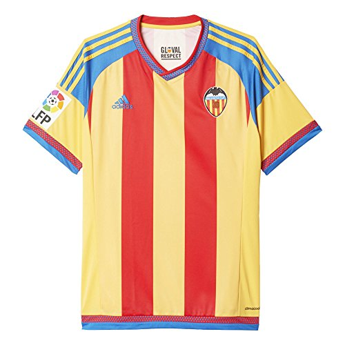 2º Equipación Valencia C.F 2015/2016 - Camiseta oficial adidas, talla M