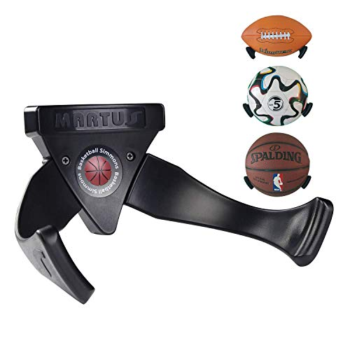 4260188751163 Claw Ball Holder, Negro, adecuado para bola No.4 ~ No.7