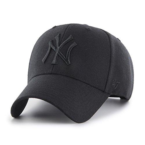 '47 New York Yankees Gorra, (All Black), (Talla del Fabricante: Talla única) Unisex Adulto