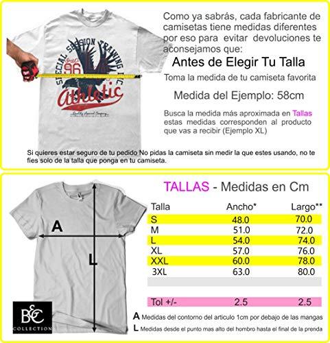 618-Camiseta Elemental Charms (Ideas C. P.) (Negra, XXL)