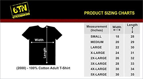 6TN - Camiseta - para hombre, Medium,Ash Grey, Small,Ash Grey