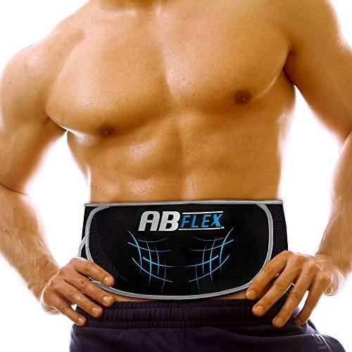 Ab Flex Estimulador Muscular Abdominales Cinturón de tonificación Ab para unos músculos abdominales tonificados y delgados