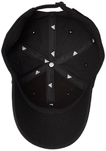 adidas 6P 3S Cap Cotto Gorra de Tenis, Hombre, Negro (Negro/Blanco/Negro), M