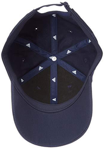 adidas 6P 3S Cap Cotto Gorra, Unisex Adulto, Legend Ink/White/White, OSFM