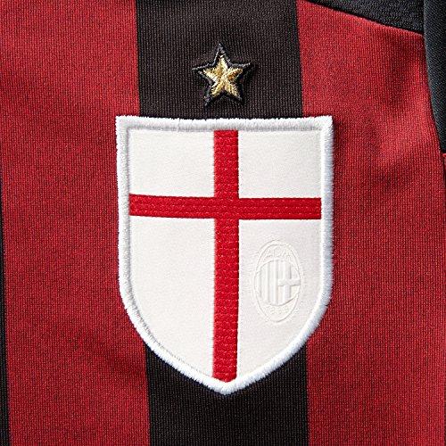 adidas ACM H JSY Y - Camiseta para Hombre, Color Negro/Rojo/Blanco/Granito, Talla 176