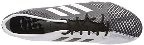 Adidas Adizero Ambition 4, Zapatillas de Atletismo para Hombre, Negro (Negbas/Ftwbla/Naalre 000), 45 1/3 EU
