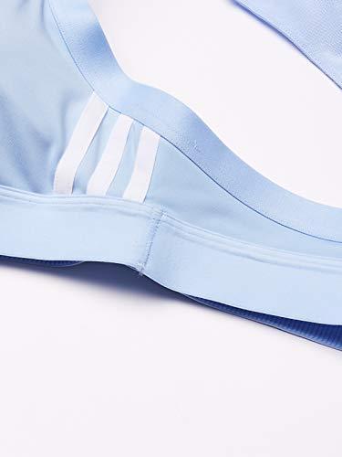 adidas All Me 3s Sujetador Deportivo, Mujer, azubri, S