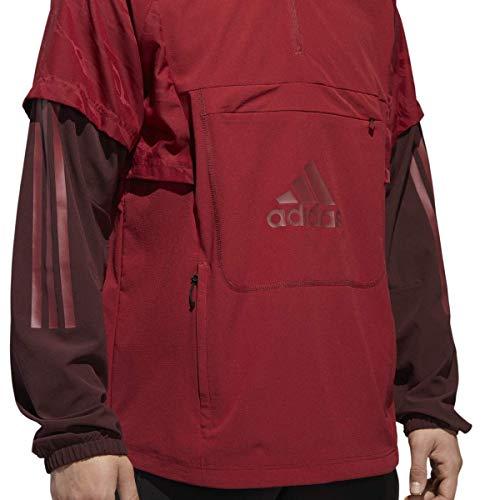 adidas Athletics - Rodillera para Hombre, Hombre, Color Noble Maroon/Night Red, tamaño X-Large