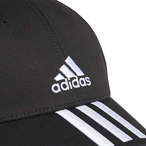 adidas Bball 3s Cap CT Gorra, Unisex Adulto, Black/White/White, OSFW