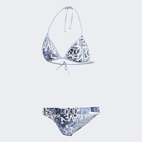 adidas BW Parley C Bik Bikini, Mujer, azubri/Semcor, 42