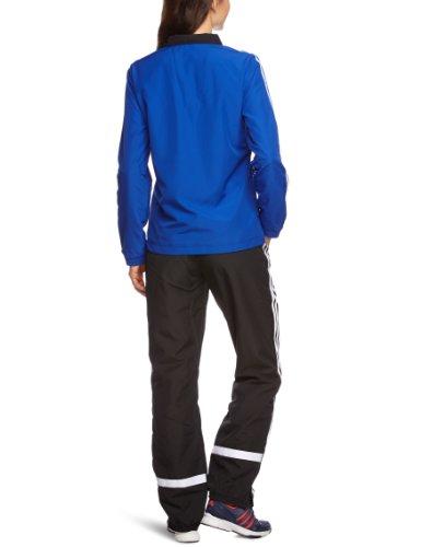 adidas - Chándal de fútbol Sala para Mujer, tamaño L, Color Azul/Negro
