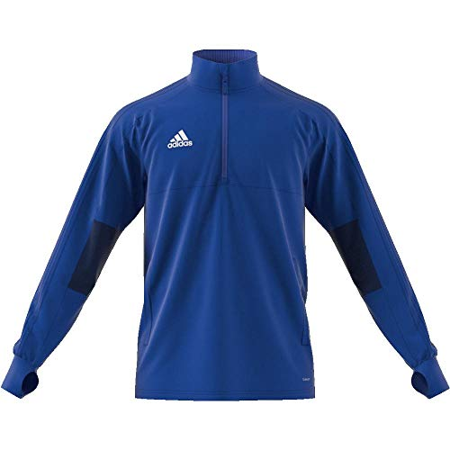 Adidas Con18 Tr Top2 Sweatshirt, Hombre, bold blue/dark blue/white, L