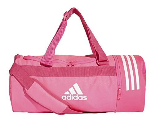 adidas Convertible 3-Streifen Bolsa de Deporte, Hombre, Rossho/Blanco, 45 cm