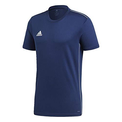 adidas Core 18 T Camiseta, Hombre, Azul (Dark Blue/White), L