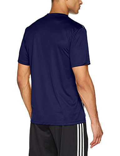 Adidas Core 18 Training Jsy, Camiseta Hombre Azul (Dark Blue/White), M