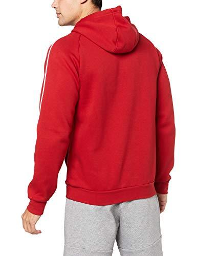 adidas CORE18 Hoody Sudadera con Capucha, Hombre, Rojo (Rojo/Blanco), M