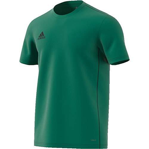 adidas CORE18 JSY T-Shirt, Hombre, Bold Green/Black, M
