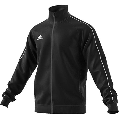 adidas Core18 PES Jkt Chaqueta, Hombre, Negro (Black/White), L