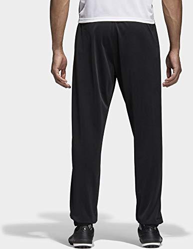 adidas CORE18 PES PNT Pants, Hombre, Negro/Blanco, M