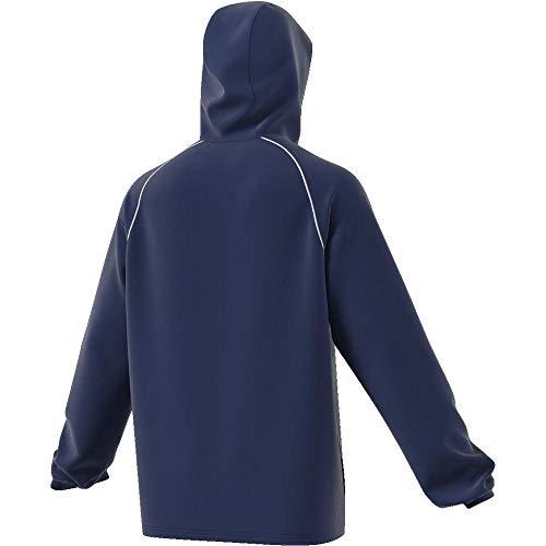 adidas CORE18 RN JKT Chaqueta Deportiva, Hombre, Azul (Dark Blue/White), L