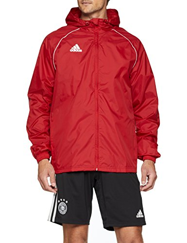 adidas CORE18 RN JKT Chaqueta Deportiva, Hombre, Rojo (Power Red/White), XL