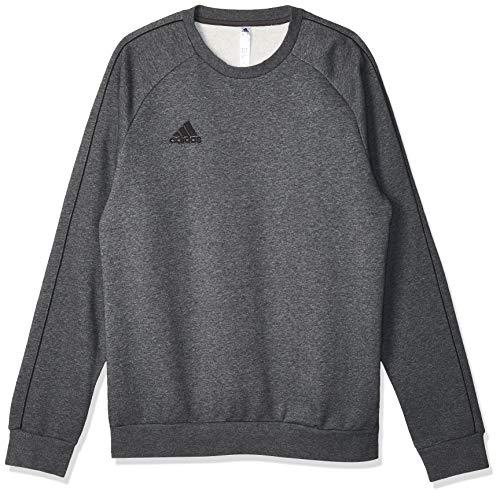 Adidas CORE18 SW Top Sudadera, Hombre, Gris (Gris/Negro), XL