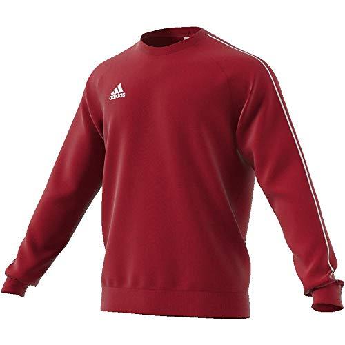 adidas CORE18 SW Top Sudadera, Hombre, Rojo (Rojo/Blanco), L