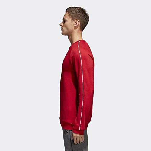 Adidas CORE18 SW Top Sudadera, Hombre, Rojo (Rojo/Blanco), M