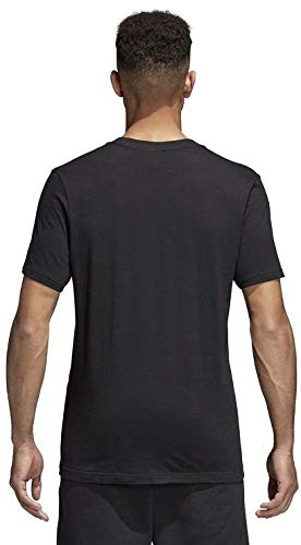 adidas CORE18 tee T-Shirt, Hombre, Black/White, 3XL