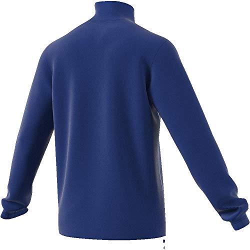 adidas CORE18 TR Top Sudadera, Hombre, Bold Blue/White, L