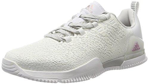 adidas Crazypower TR W, Zapatillas de Deporte para Mujer, Blanco (Ftwbla/Gridos/Negbas), 40 EU