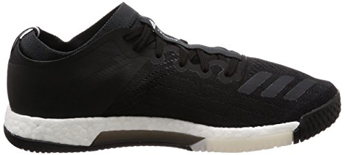adidas Crazytrain Elite M, Zapatillas de Deporte para Hombre, Negro (Negbás/Negbás/Carbon 000), 44 EU