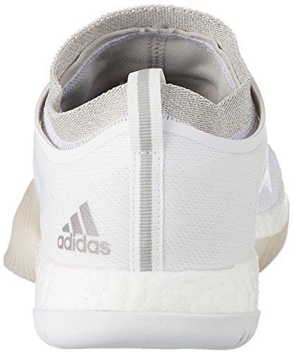 adidas Crazytrain Elite W, Zapatillas de Deporte Interior para Mujer, (Ftwbla/Plteme/Griuno), 40 EU