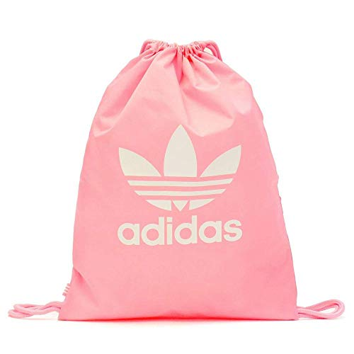 adidas D98919 Gymsack Trefoil - Mochila de Gimnasio, Unisex Adulto, Rosa (Light Pink), 37 x 47 cm