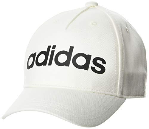 adidas Daily Cap Hat, Unisex Adulto, Chalk White/Black, Ofsm
