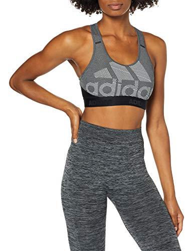 adidas Drst Ask Bos Sujetador de Deporte, Mujer, Black/Heather/White, S