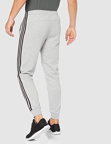 adidas E 3S T PNT FT Pantalones de Deporte, Hombre, Medium Grey Heather/Black/mgh Solid Grey, M