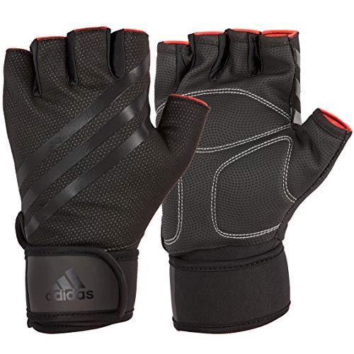 adidas Elite Training Guantes de Fitness, Adultos Unisex, Negro, L-20-21.5 cm Alrededor de la Palma