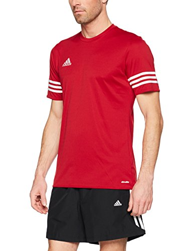 adidas Entrada 14 JSY, Camiseta para hombre, Rojo (University Red/White), M, F50485