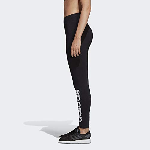 adidas Essential Linear Medias, Mujer, Negro/Blanco, L