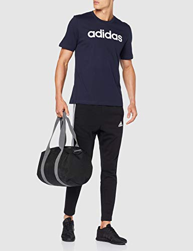adidas Essentials Linear Logo tee Camiseta, Hombre, Azul (Legend Ink/White), L