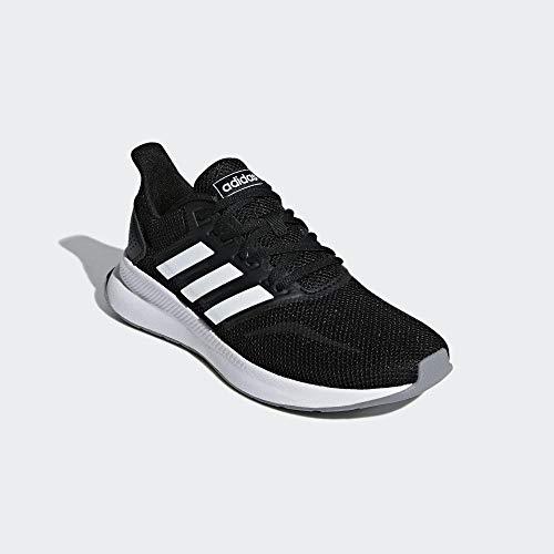 adidas Falcon, Zapatillas de Entrenamiento para Mujer, Multicolor (Core Black/FTWR White/Grey Three F17 F36218), 40 EU