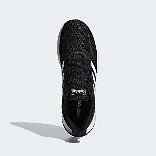 Adidas Falcon, Zapatillas de Trail Running para Hombre, Negro/Blanco (Core Black/Cloud White F36199), 42 2/3 EU