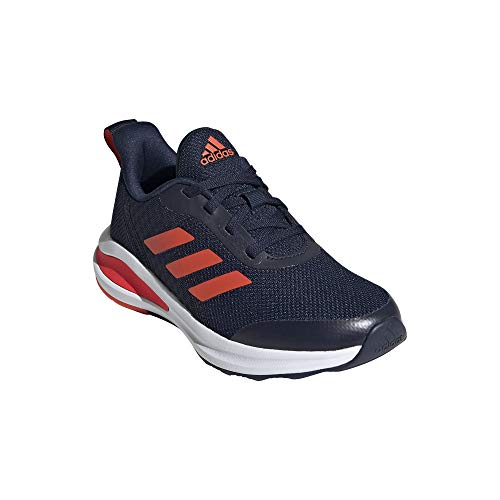 adidas Fortarun K, Zapatillas de Cross Training Unisex Adulto, Maruni/Rojsol/FTWBLA, 39.33 EU