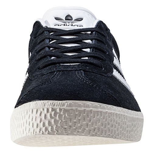 ADIDAS Gazelle J, Zapatillas Unisex Adulto, Negro (Core Black/Footwear White/Gold Metallic 0), 37 1/3 EU