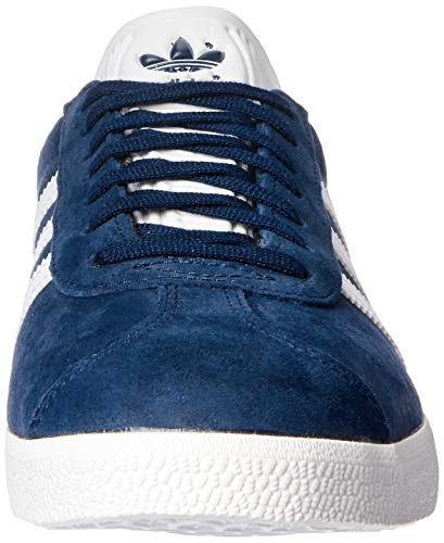 adidas Gazelle, Zapatillas de deporte Unisex Adulto, Varios colores (Collegiate Navy/White/Gold Metalic), 45 1/3 EU