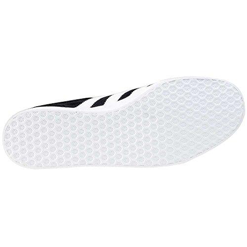 adidas Gazelle, Zapatillas de deporte Unisex Adulto, Varios colores (Core Black/White/Gold Metalic), 44 EU