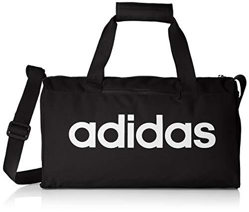 adidas Lin Core Duf XS Bolsa Lona de Deporte, Unisex Adulto, Black/Black/White, NS